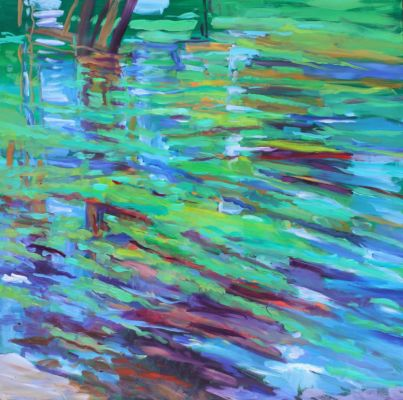 Charente Reflections 100x100