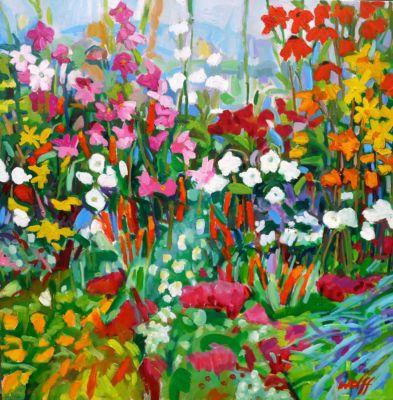 Misty Melbury & Flowers 80x80