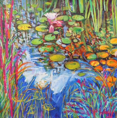 Pond Dillweed and Catmint 80x80