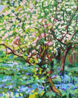 Spring in the Orchard 60x60